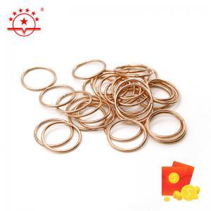 Quality P Cu Alloy Copper Bcup-2 1480°F Liquidus Brazing Rings for sale