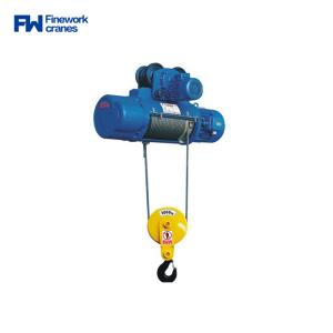 Quality 30m Lifting Height 5t Md1 Double Speed Electric Hoist for sale