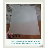 China 3mm - 19mm Frosted interior decoration glass partition on sale