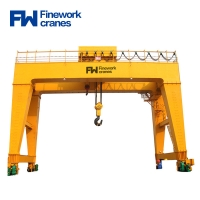 Buy cheap 20ton 80ton Double Girder Gantry Crane With Lifiting Trolley from wholesalers