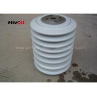 Quality Porcelain Post Insulators With Steel Inserts , Bus Post Insulator Grey Color for sale
