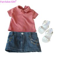 China New  fashion american girl doll accessories beautiful handmade cloth for girl on sale