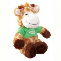 Quality Giraffe with T Shirt Plush Toys for sale