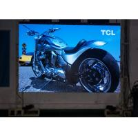 Best Light Duty Slim 6mm Mobile Stage LED Screens 4000HZ Refresh Rate 15mm Thinckness wholesale