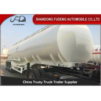 China 3 Axles 50CBM Fuel Tanker Semi Trailers Customized carbon steel tanker trailers on sale