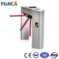 China Automatic Tripod Pedestrian Turnstile Access Control System For Office Building on sale