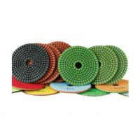Quality 100mm granite flexible diamond polishing pads wet polishing use for sale