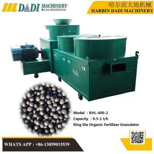 Quality KHL-400-2 CE certificate organic fertilizer granulation machine for sale
