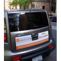 Best Customized magnetic car bumper stickers , PVC car advertising stickers wholesale