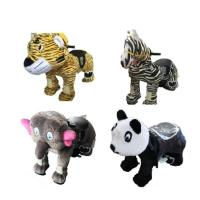 Quality Plastic Mini Park Animal Joy Coin Operated Horse Ride / Kids Electric Cars for sale