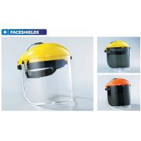 Quality Safety FACESHIELDS thickness 0.8mm-1.5mm material PC or CA certificate CE & ANSI for sale