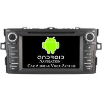 Quality Professional Quad Core Corolla Toyota Radio GPS 3G / WiFi Car DVD Player 2012 2013 for sale