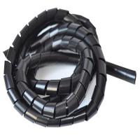 Quality Rosh high intensity Fire - Resistant  Insulation spiral wrapping band plastic cable band for sale