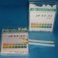 China Human Body pH Test Strips with Accuracy of 5.0 to 9.0 on sale