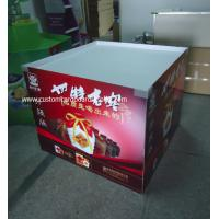 Best POP / POS Cardboard Dumpbin Display holding 50kg for Red Wine , Liquor wholesale