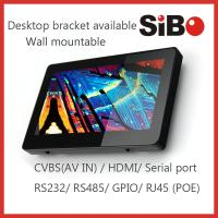 Best Upgraded 7 Inch Inwall Mount POE Powered Android Tablet With Serial Port  RS232 RS485 GPIO wholesale