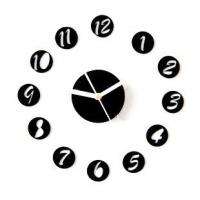 Quality New Design Non - Toxic DIY Acrylic Contemporary Art Wall Clock SH-30 2012 for sale