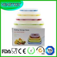Quality /Silicone Collapsible Lunch Box/Silicone Food for sale