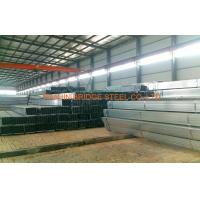 Quality Schedule 30 Pre Galvanised Steel Pipe , Rectangular Steel Tube for sale