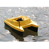 Quality DEVC-303 yellow bait boat fish finder DEVICT fishing robot with GPS for sale