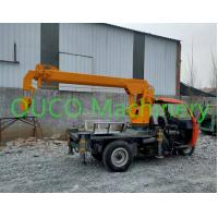 Buy cheap 2 Ton Small Portable Truck Mounted Boom Crane With Outrigger , Long Life from wholesalers