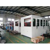 Quality TQC-750 Plastic Thermoforming Machine Daily Used 0.2-2.0 Mm Sheet Thickness High Efficiency for sale