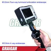 Quality Ф3.0mm electrical test instruments four way turnround aritculation endoscope for sale