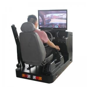 Quality Real Car Simulator Wholesale, Learning Driving Simulator Factory, Single-Screen Driving Simulator Training Machine for sale