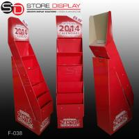 Best 5 shelves calendar floor display stand wholesale