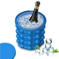Quality Revolutionary Space Saving Silicone Ice Bucket for sale