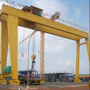 Quality Industrial Heavy Duty  Large MG Double Girder Gantry Crane for sale
