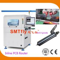 China ESD Safe Brush Inline PCB Router PCB Separator With Supper Visual System on sale