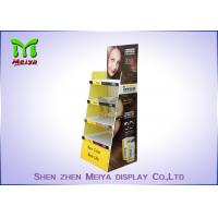 Best Eco Promotion Advertisement Display Stands , Cardboard Store Display For Shampoo wholesale