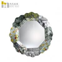 Quality Commercial Antique Glass Wall Mirror Framed Waterproof Moistureproof for sale