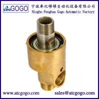 China Two-way Right-hand thread high temperature steam rotary joint water rotating connector 1/8 to 3 brass swivel fitting on sale