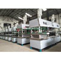 Quality Semi-automated Pulp Molded Food Grade Tableware / Dinnerware Forming Machine for sale