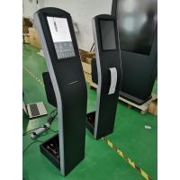 Buy cheap Floor Standing Capacitive Touch Screen Kiosk 12.1'' THERMAL Printer For Order from wholesalers