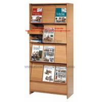 China Cheap Home office furniture or Library Bookcase rack made by MDF in KD structure easy shipping on sale