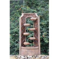Best Classical Multi Tiered Outdoor Fountains In Fiberglass / Resin Material wholesale