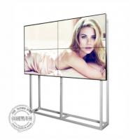 Quality Full HD LCD Video Wall Display 55 Inch Digital Signage ultra thin bezel 1.7 mm 3.5 mm with Software for sale
