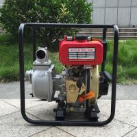 """Quality Air cooling self priming hand start 4 inch diesel engine water pump set 4"""" for sale"""
