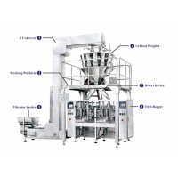 China Vertical Packaging Machine with two bagger for sale