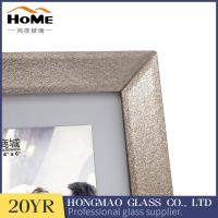 Quality Office Decorated Glitter Glass Photo Frame Customized Color / Desgin for sale