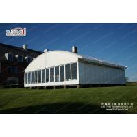 China 15m clear span durable arcum commercial tent arch roof marquee for sale on sale