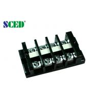 Quality 19.00mm Panel Mount High Current Terminal Block pluggable 600V 60A for sale