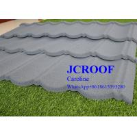 Quality ISO9001 Certificate Stone Coated Roofing Tiles Milano Type for Country House for sale