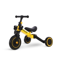 Quality 2020 New Model High Carbon Steel 2 in 1 Children Tricycle Bike Kids Balance Bike 1.2-4 Ages Yellow Color for sale