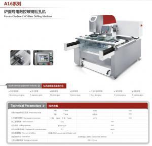 China Stove Glass CNC  Drilling Machine on sale