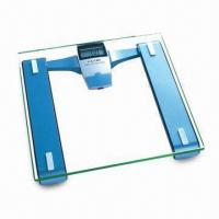 China Wireless Displayed Electronic Scale with 8mm Tempered Safety Glass Platform on sale