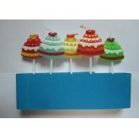 China Unscent Gift Pick Candles Christmas Hat Shape Drip - Less With Various Colors on sale